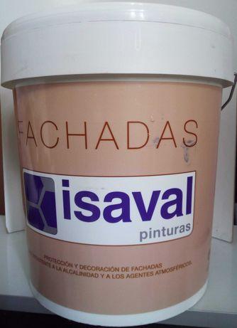 Краска фасадная Ревисаль Лиссо Isaval служит 8лет  15л - 24 кг