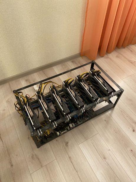 ЯК НОВА!! Майнінг ФЕРМА (Риг) на 6х RX570 4Gb Sapphire NITRO+