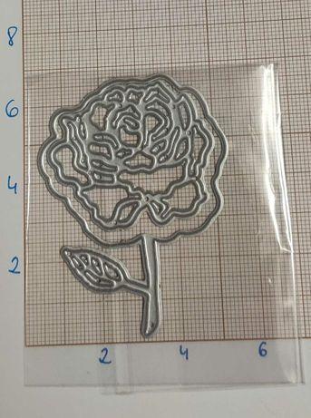Scrapbooking - Wykrojnik - róża nr 3