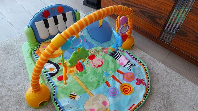 Tapete atividades Fisher Price com piano
