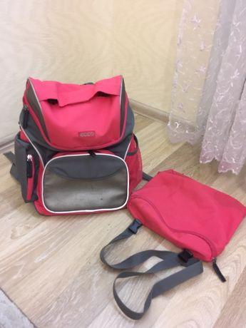 Ecco школьный рюкзак ортопедичний ортопедический с сумка для обуви
