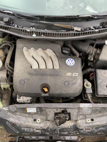 Silnik 2.0 benzyna AQY passat golf bora leon new beetle KOMPLETNY