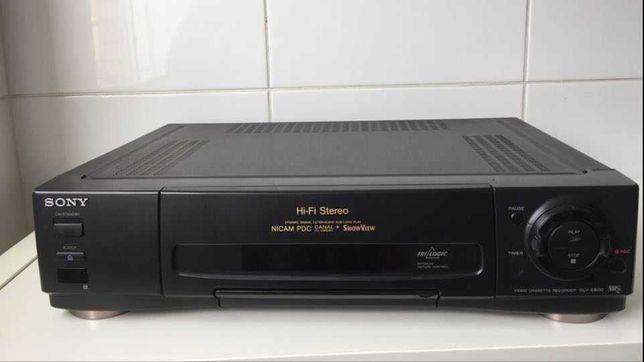 Vídeo VHS Sony SLV E800NP (com uma avaria)