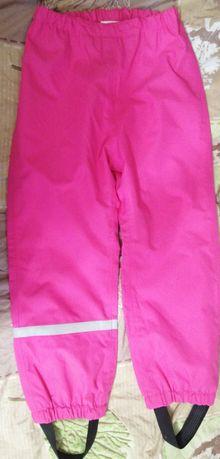 Мембранные штаны дождевик h&m 5-6 лет рост 116 см