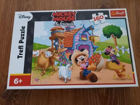 Puzzle 160 elementów Myszka Miki i przyjaciele