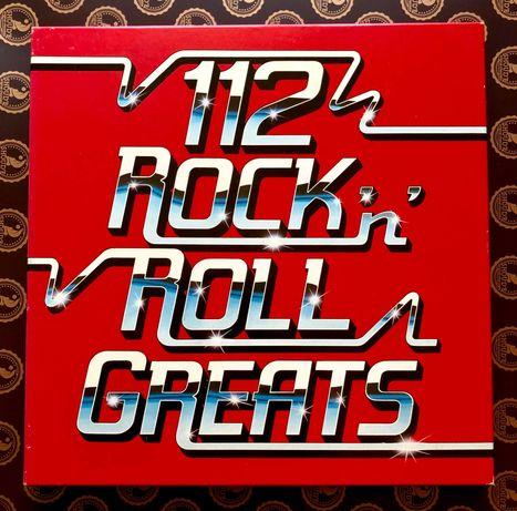112 ROCK'N'ROLL Greats  8LP Made in UK