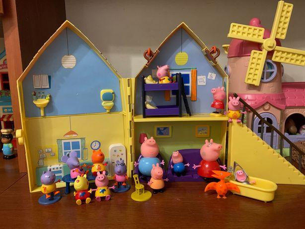 Продам домик свинки пеппы, фигурки пеппы, пепа, peppa.