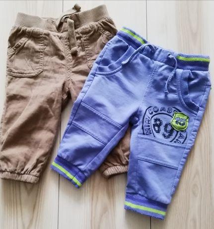 Spodnie F&F, dresy chłopięce Coccodrillo r. 68
