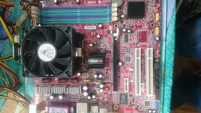 Материнская плата MSI MS-7191 RS482M4-L OEM Socket 939