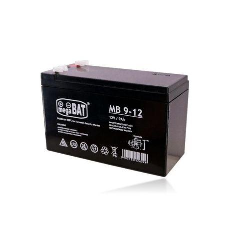 Bateria 12V 9AH MB 9-12 AGM VRLA Megabat Ultracell Alarme UPS