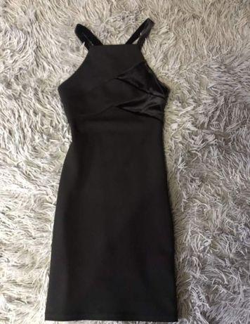 Платье чёрное xxs-xs
