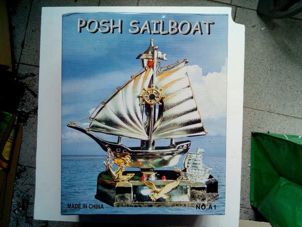 Barco Decorativo novo nunca usado