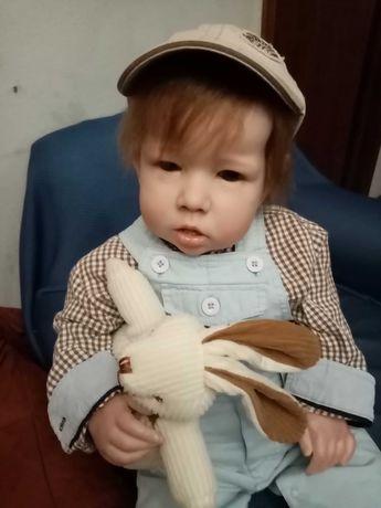 Bebé Reborn enorme do kit Lian descida de preço (210 euros)