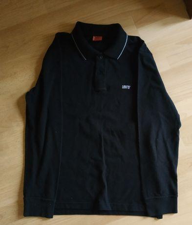 Koszulka polo z długim rękawem marki Levis.