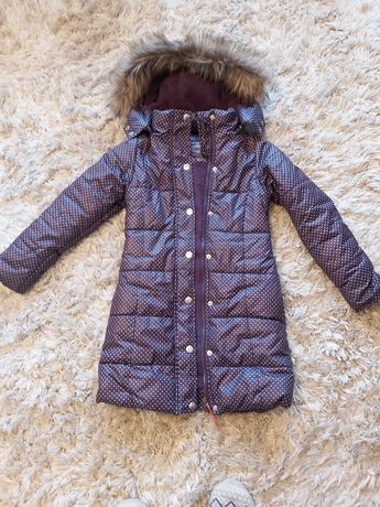 Kurtka, płaszcz zimowa puchowa 5 10 15