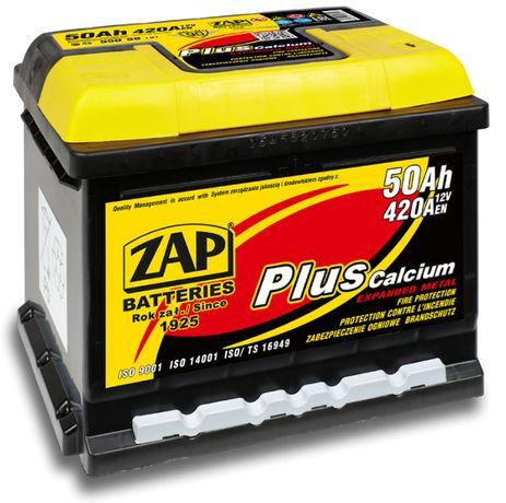 Akumulator ZAP EAGLE Plus 50Ah P+ 420A EN 12V Akumulatory rozruchowe
