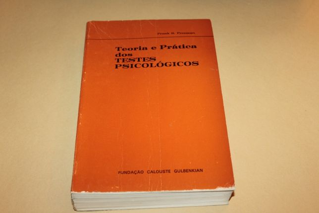 Teoria e Prática dos Testes Psicológicos// Frank S.Freeman