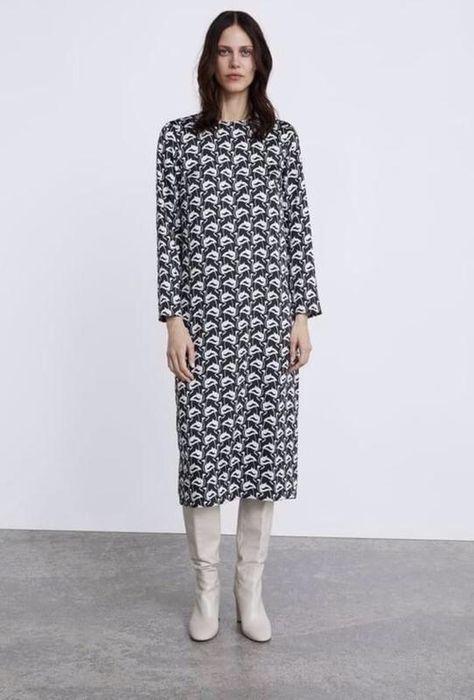 Платье миди от zara( Цена указана со скидкой !) Ивано-Франковск - изображение 1