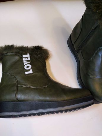 Ботинки хаки еврозима