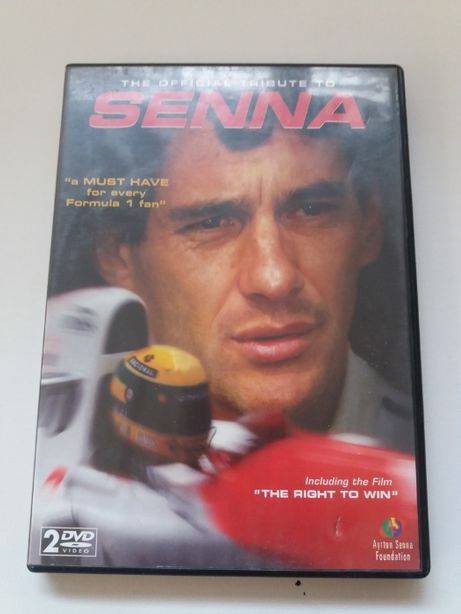 The Official Tribute to Senna DVD
