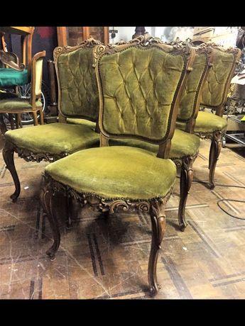 Старинные антикварные французские стулья