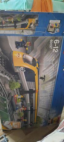 Лего поезд детский