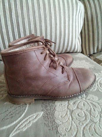 Взуття осінь-весна ботінки утеплені Zara 27