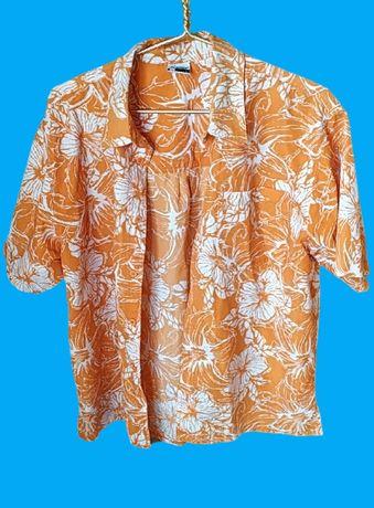 Гавайская рубашка L
