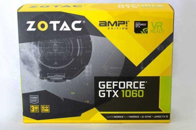 Zotac Geforce GTX 1060 3Gb Amp edition