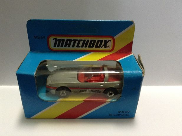 MATCHBOX Superfast CORVETTE 83 e MAZDA RX 7 - made in Macau