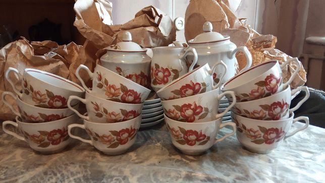 Сервиз чайный на 12 персон Барановка новый в упаковке 80-х годов
