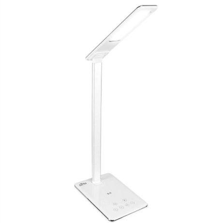 Енергозберігаюча настільна лампа + безпровідна зарядка для смартфонів