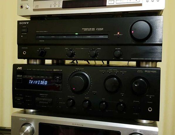 Усилитель Sony TA- F335R, Ресивер DVC  RX-616RBK