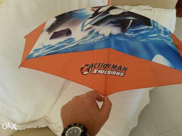 Chapéu de chuva-criança ,action man