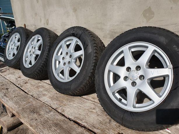 Диски с зимней резиною Титани R15 5/100 Skoda VW Audi
