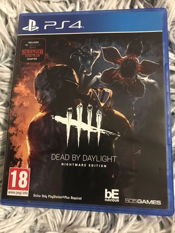 Ps4 gra dead by daylight, stranger things