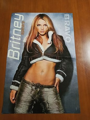 Posters da Britney Spears (Revista Bravo)