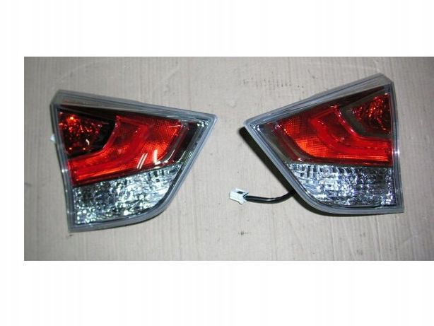 Nissan Rogue рестайл, Nissan x-trail t32 задний фонарь, фонари в ляду
