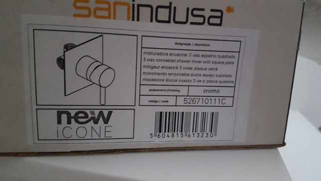 Sanindusa misturadora 3 vias