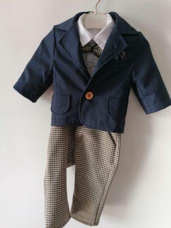 Ubranko dla chłopca na chrzest, garnitur, buty