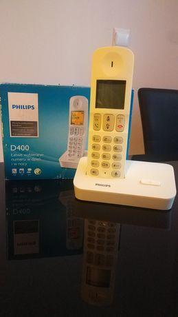 Telefon stacjonarny Philips D400