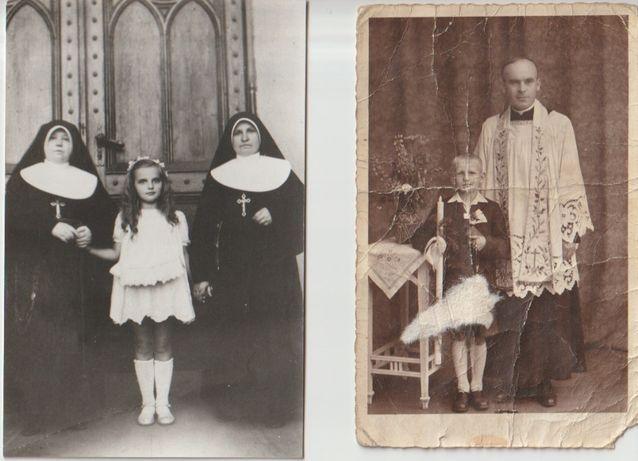 Stare zdjęcia komunia 1941