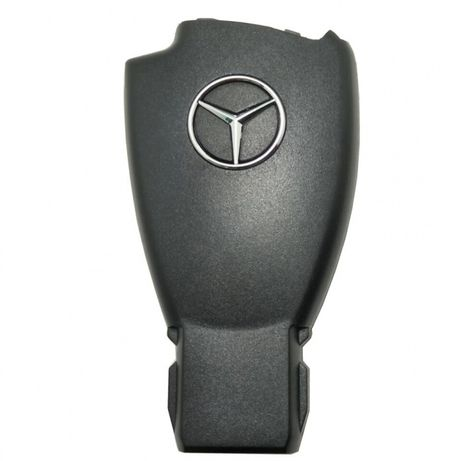 Carcaça / capa Chave Mercedes 2/3 Botoes c/ Logo Original