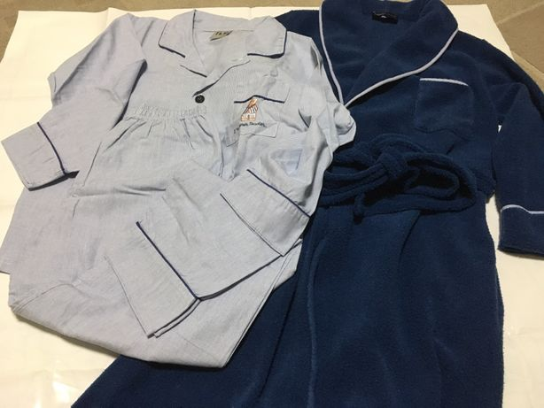Conjunto robe e pijama rapaz Mira