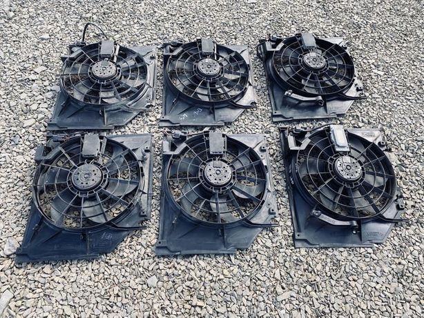 Вентилятор на БМВ Е46 Рестайлинг Бензин М54 М52ТУ N42 0919159