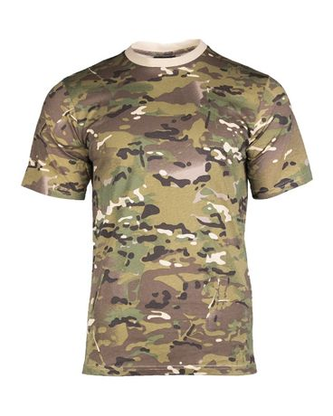 Koszulka wojskowa multicam