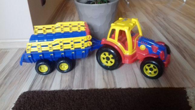 Traktorek+przyczepka