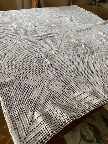 Centro de mesa/toalha de crochet