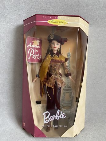 Barbie Autumn in Paris lalka kolekcjonerska unikat