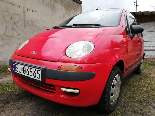 Daewoo-FSO Matiz 2000 benzyna drugi właściciel niski przebieg